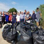 Ziua Dunării – marcată de jandarmi printr-o acțiune de ecologizare
