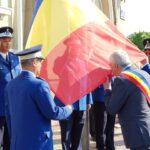 Jandarmeria Giurgiu a cinstit Ziua Drapelului Naţional