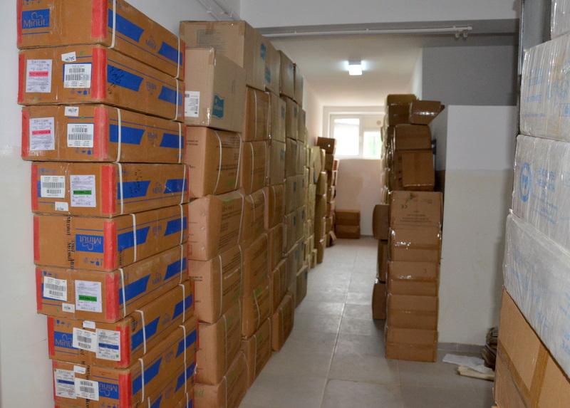 Peste două milioane de măşti de protecţie pentru persoanele defavorizate din judeţul Giurgiu