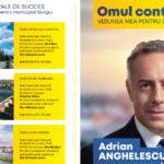 Despre Economie şi Administraţie Publică cu Adrian Anghelescu, candidatul PNL la Primăria Giurgiu