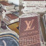 Covoare şi seturi de baie în valoare de peste 585.000 lei, susceptibile a fi contrafăcute, confiscate la P.T.F. Giurgiu